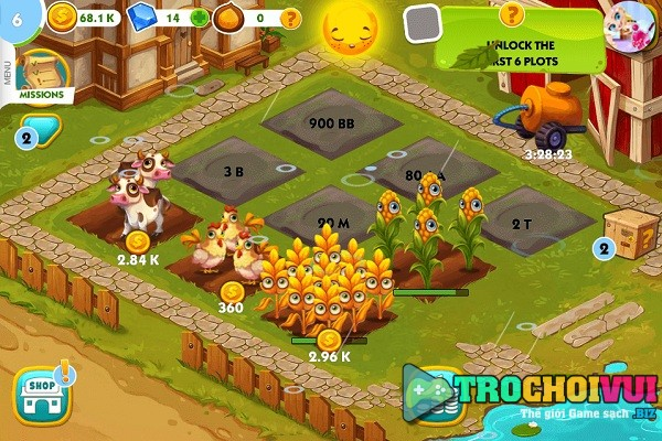 game Nong trai vui ve 2019 offline cho android iphone pc