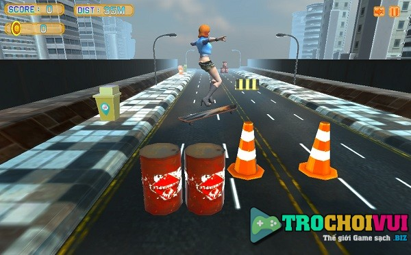 game Truot van duong pho 3D 2 hinh anh 1