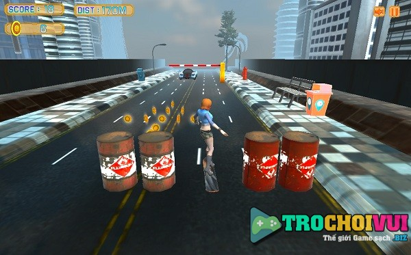 game Truot van duong pho 3D 2 hinh anh 2