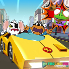 game Chuot nguy hiem dua xe danger mouse full speed extreme turbo