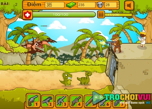 game Khung long song lai hinh anh 2