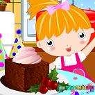 Làm bánh pudding năm mới
