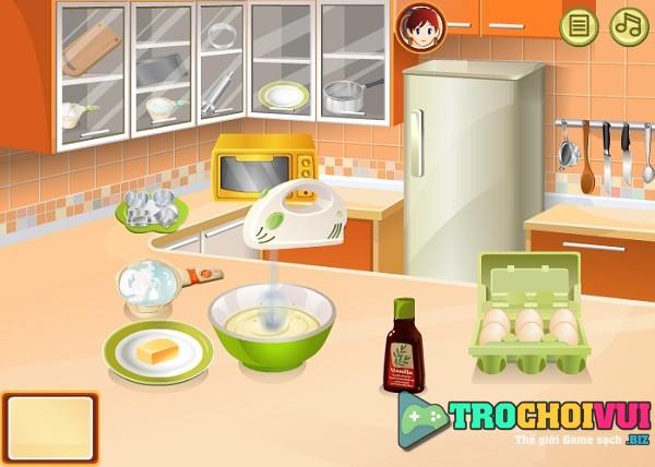 game Lam banh trung nuong hinh anh 1