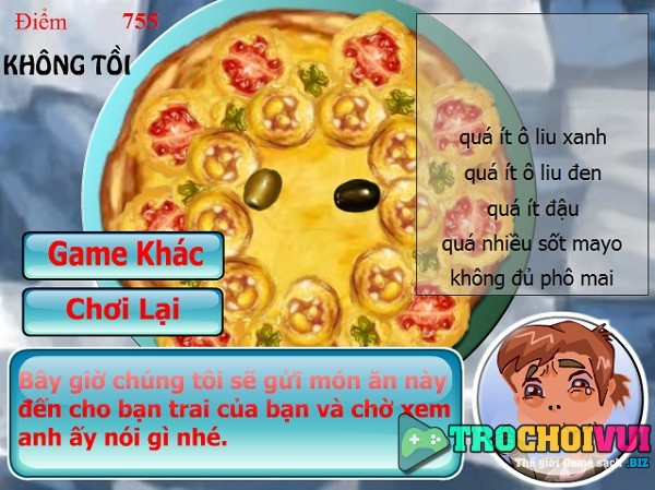 game Tap lam banh pizza 24h