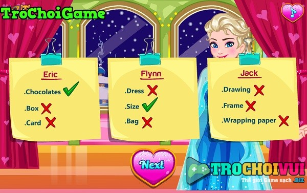 game Valentine cua Elsa hinh anh 4