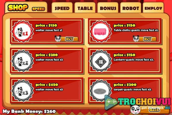 game Nha hang Trung Hoa gau truc