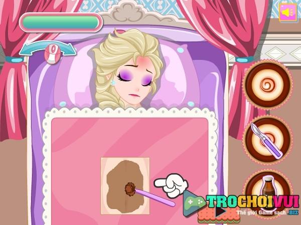 game Elsa bi ngo doc thuc an hinh anh 2