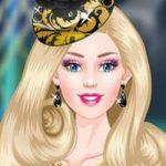 Công chúa Barbie hóa trang thành Elsa