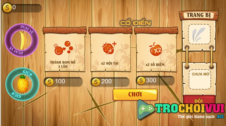 Game Chem trai cay mobile online anh 1