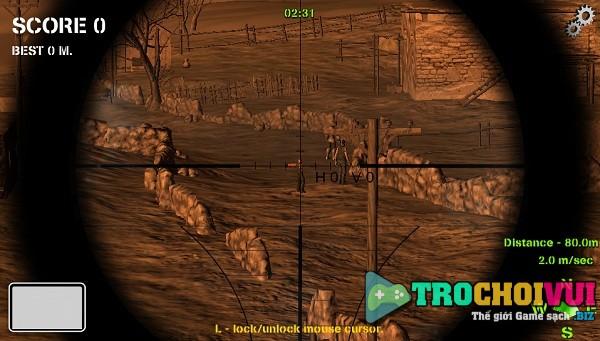Game cao thu ban tia sniper 3d anh 1