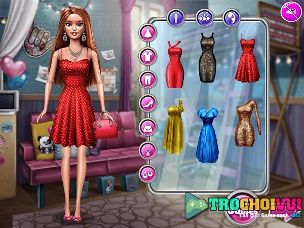 Game thay do cho bup be Barbie anh 1