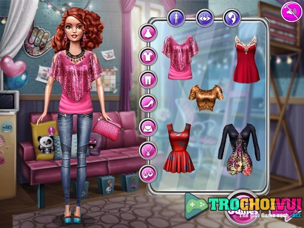 Game thay do cho bup be Barbie anh 2