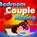 Hôn nhau trên giường ngủ