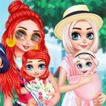 Thời Trang Mẹ Và Bé 2 – Princesses Baby Wearing Fun