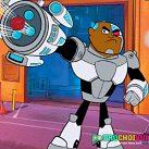Cyborg bắn đồ ăn