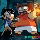 Victor and Valentino ném bóng diệt zombie