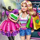 Bạn gái mua sắm